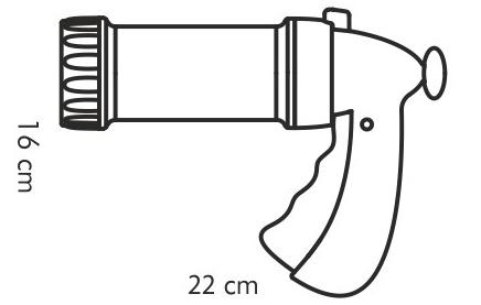 Фотография Пресс для теста/шприц кондитерский Tescoma Delicia с 8 насадками 630534 (1