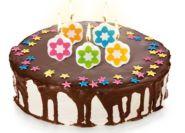 Свечи для торта на палочке DELICIA KIDS, 5 шт.
